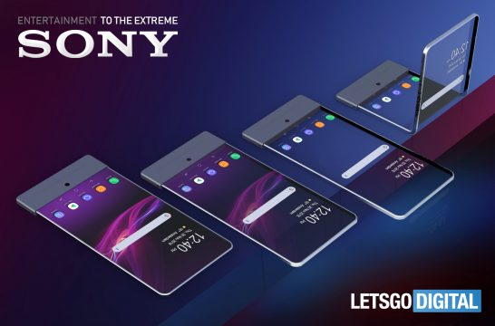 Sony smartphone