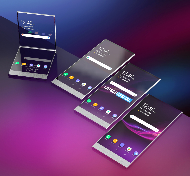 Sony transparante smartphone