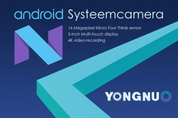 Systeemcamera met Android