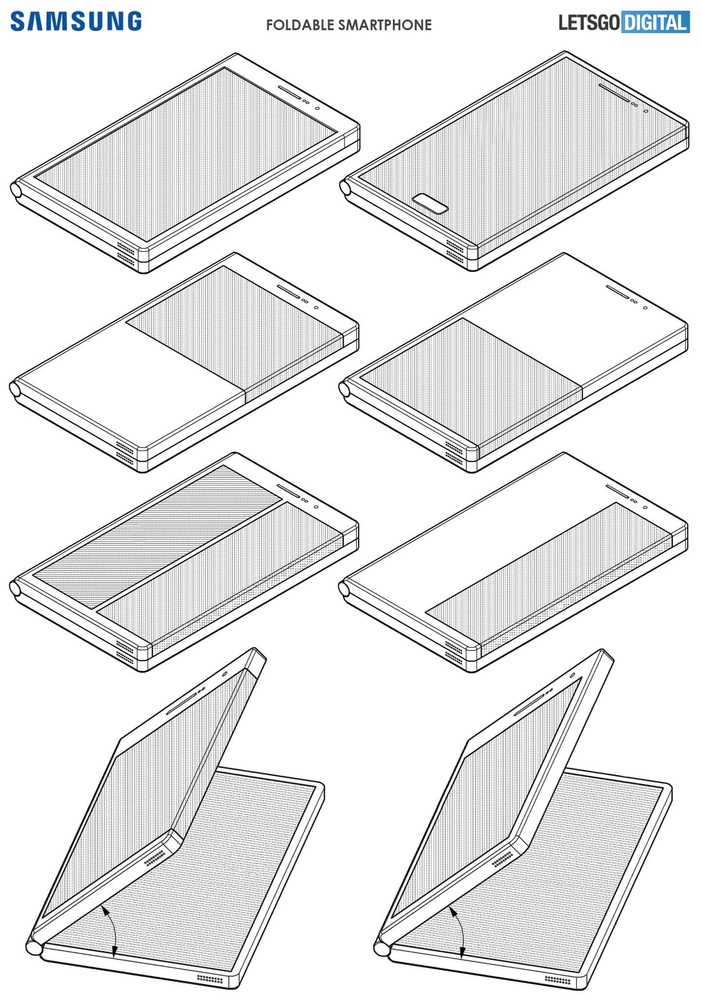 Vouwbare Samsung