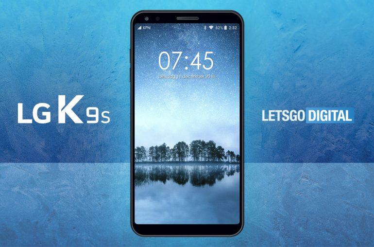 LG K9S budget smartphone