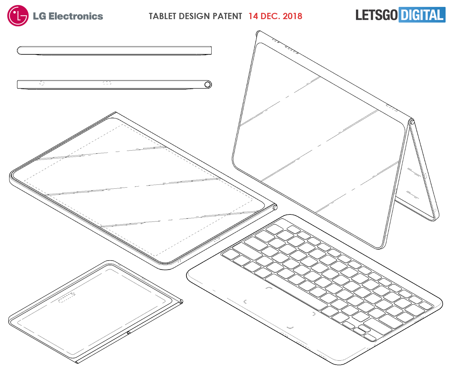 LG tablet keyboard