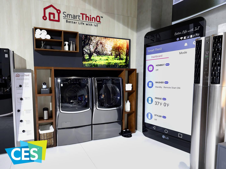 Nieuwe wasmachines LG