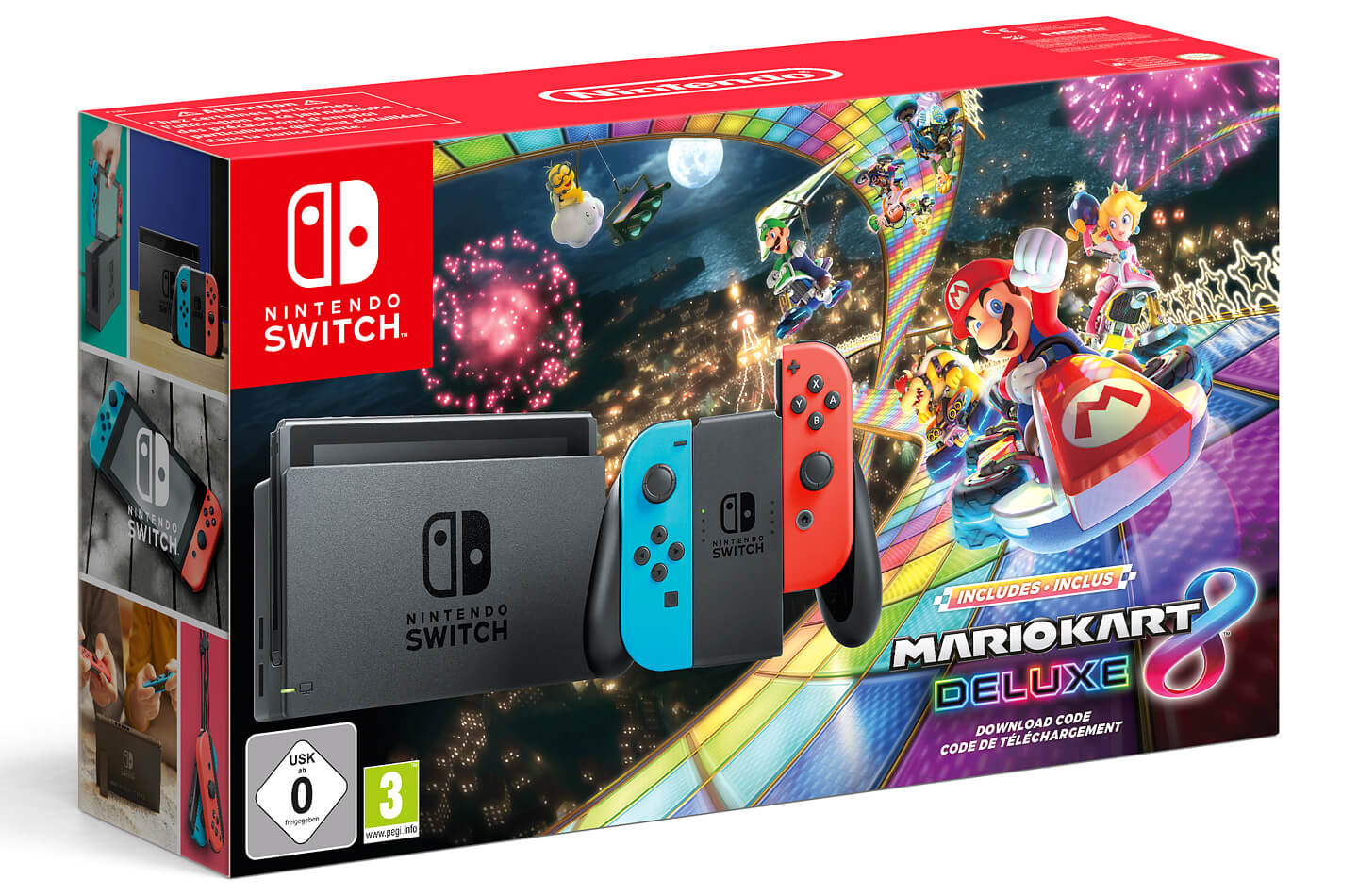 nintendo switch bundel met mario kart 8 deluxe letsgodigital. Black Bedroom Furniture Sets. Home Design Ideas
