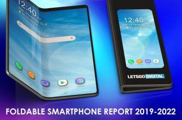 Opvouwbare smartphone 2019