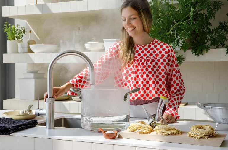 Quooker kokend water kraan