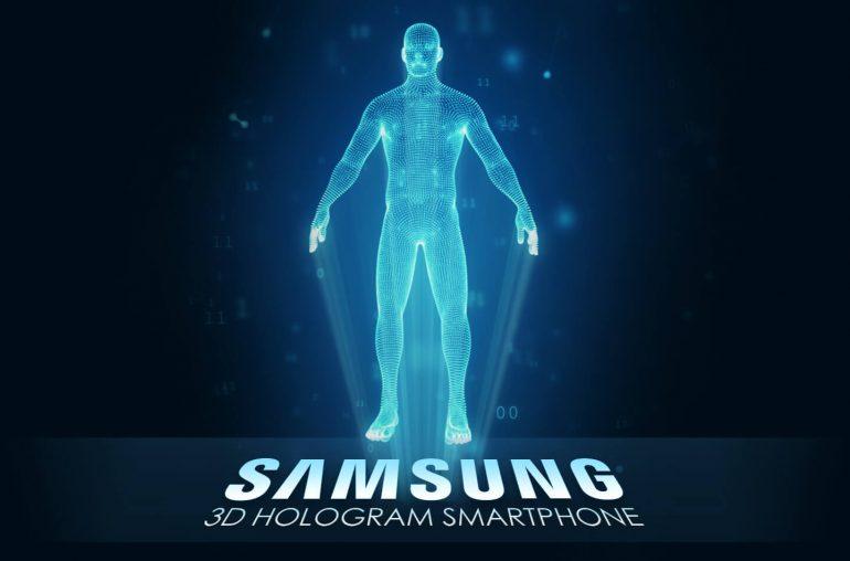 Samsung 3D hologram smartphone