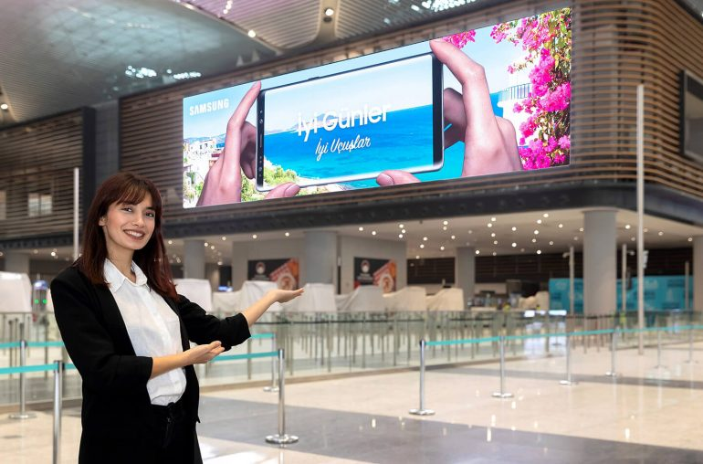 Samsung LED displays