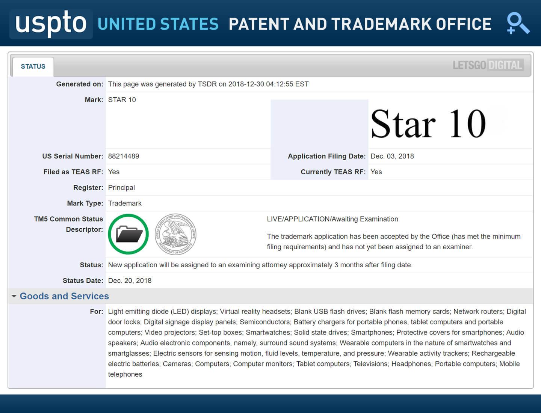 Samsung Star 10