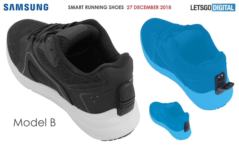 Sportschoenen met sensoren