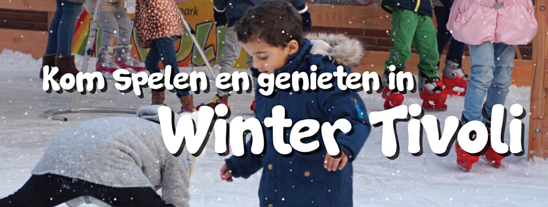 Winter Tivoli amusementspark