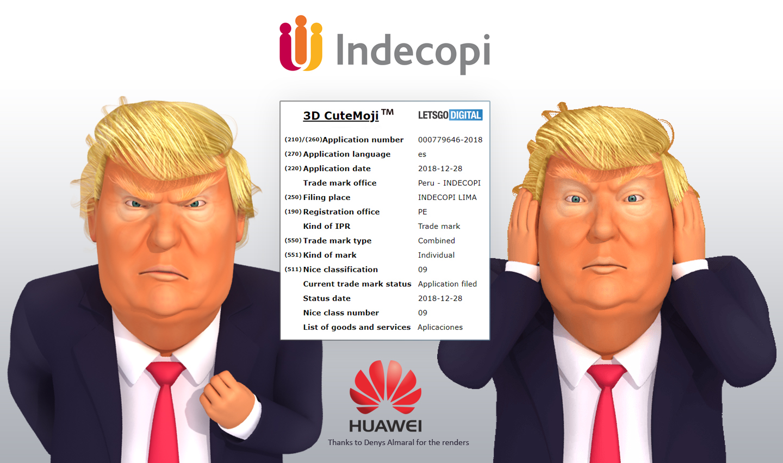 Huawei 3D CuteMoji