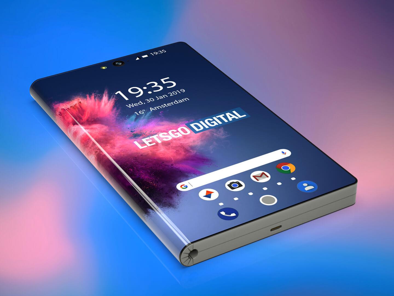 Huawei opvouwbare smartphone