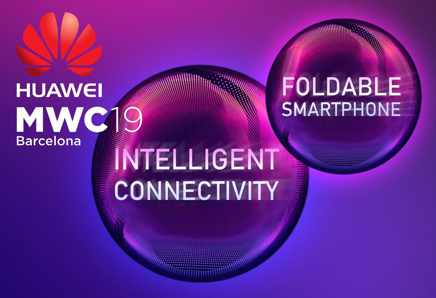 Huawei smartphones MWC 2019
