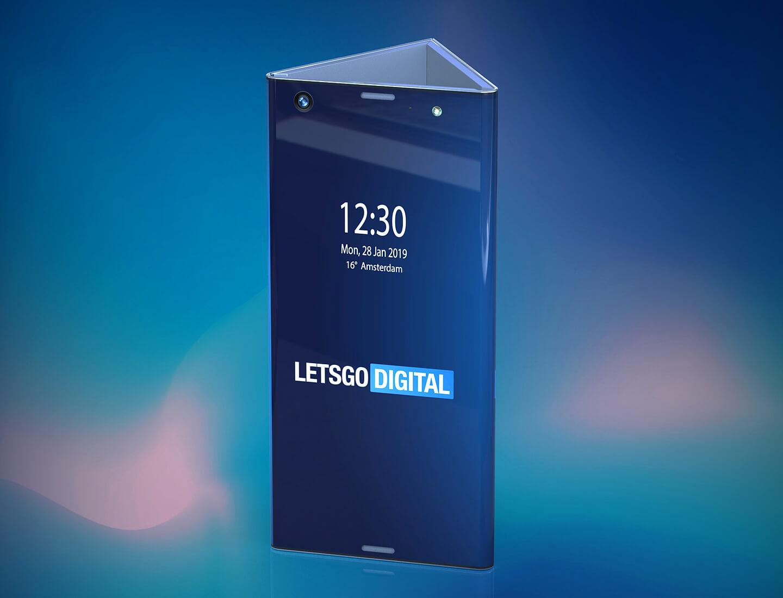 Intel opvouwbare telefoon