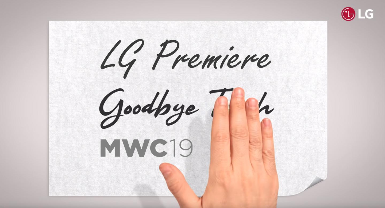 LG smartphones MWC 2019