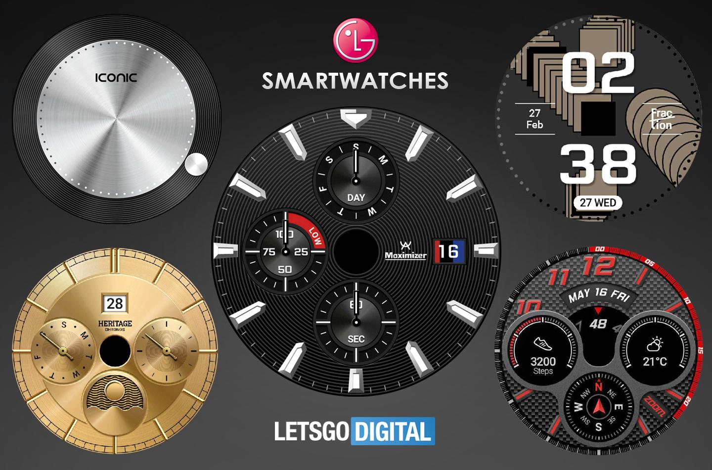 LG smartwatches 2019