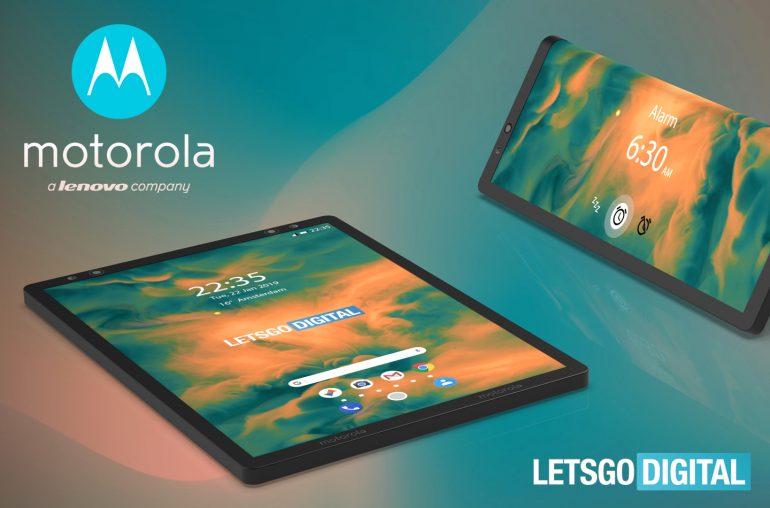 Opvouwbare smartphone Motorola