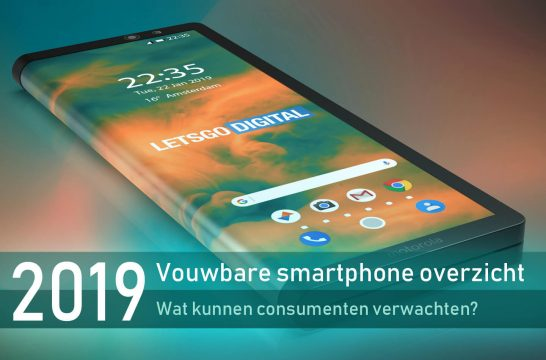 Opvouwbare smartphone overzicht 2019