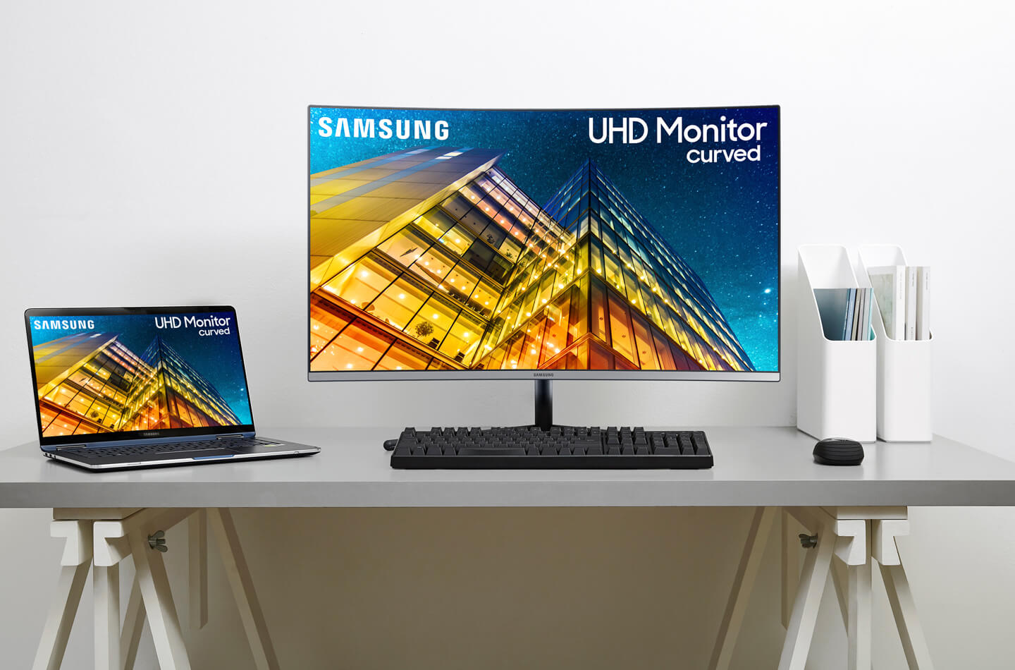 Samsung Curved 4K UHD monitor