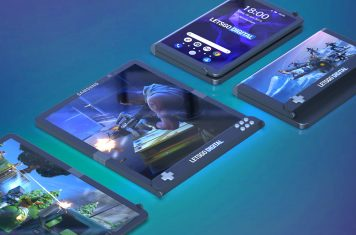 Samsung foldable gaming smartphone