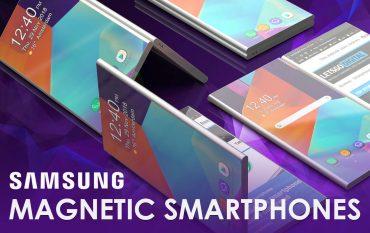 Samsung smartphones magnetische koppeling