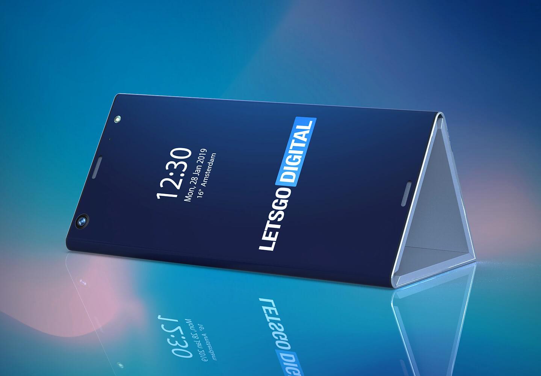 Smartphone opvouwbaar