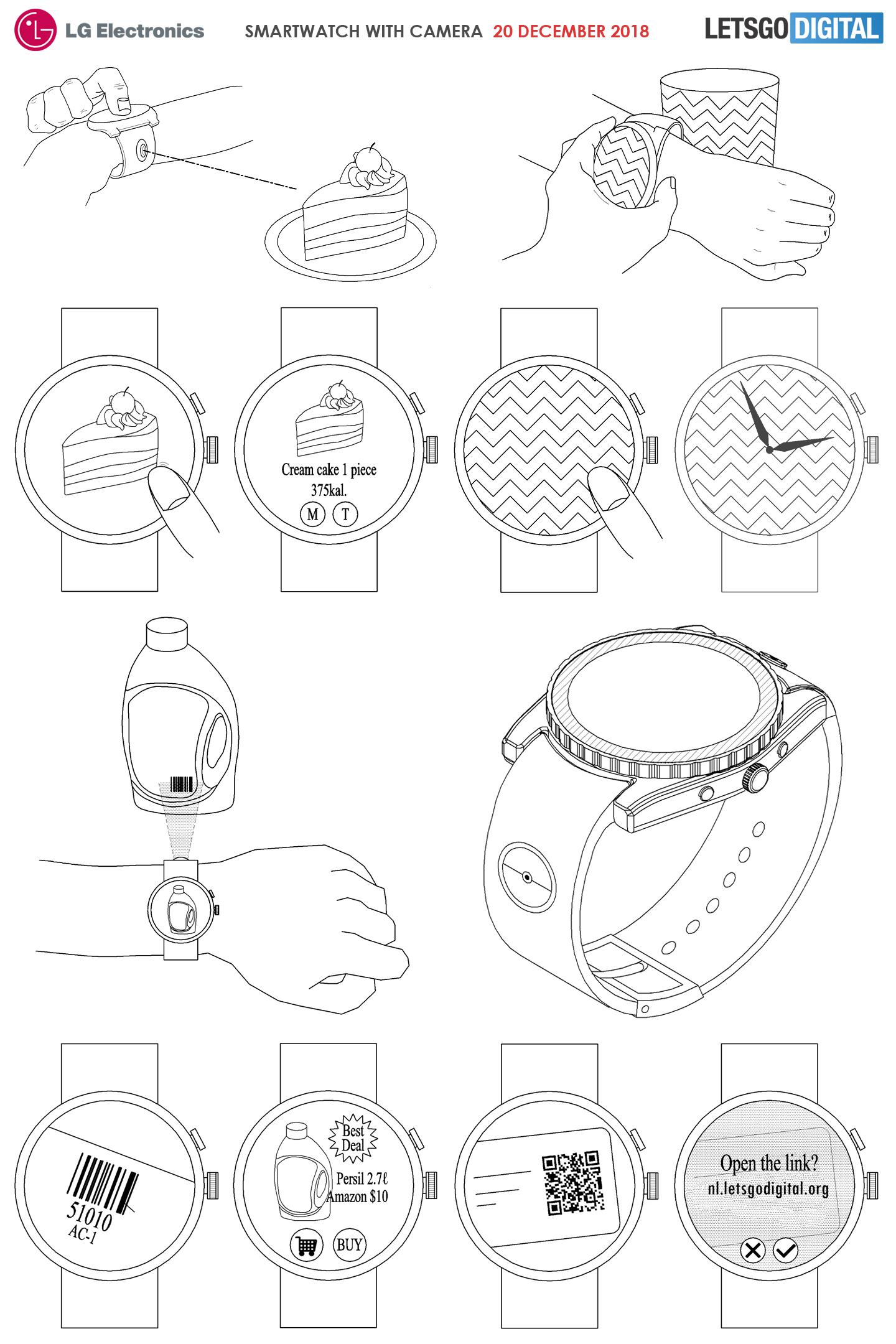 Smartwatch camera
