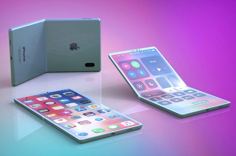 Apple iPhone opvouwbare smartphone
