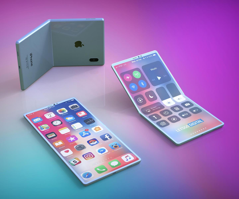 Apple opvouwbare smartphone