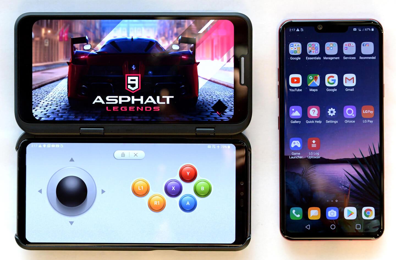 Dual screen telefoon