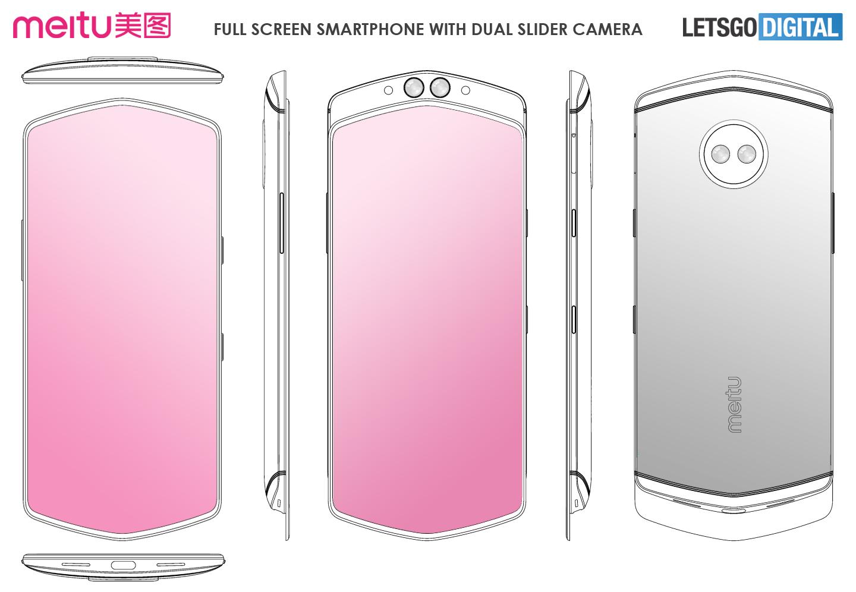 Full screen smartphone