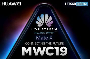 Huawei Live Stream MWC 2019