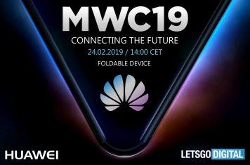 Huawei opvouwbare telefoon