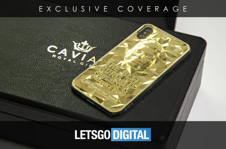 iPhone XS Max gouden smartphone