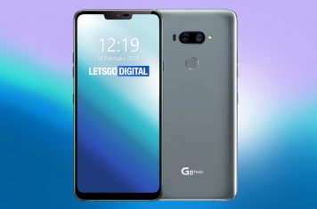 LG G8 ThinQ display