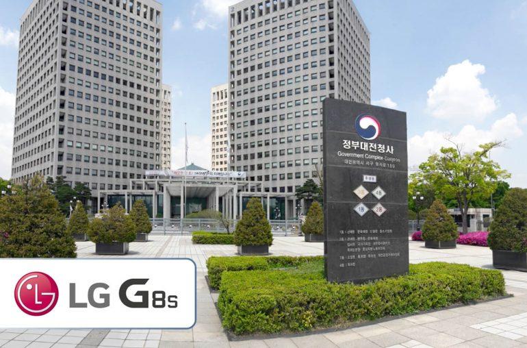 LG G8s telefoon