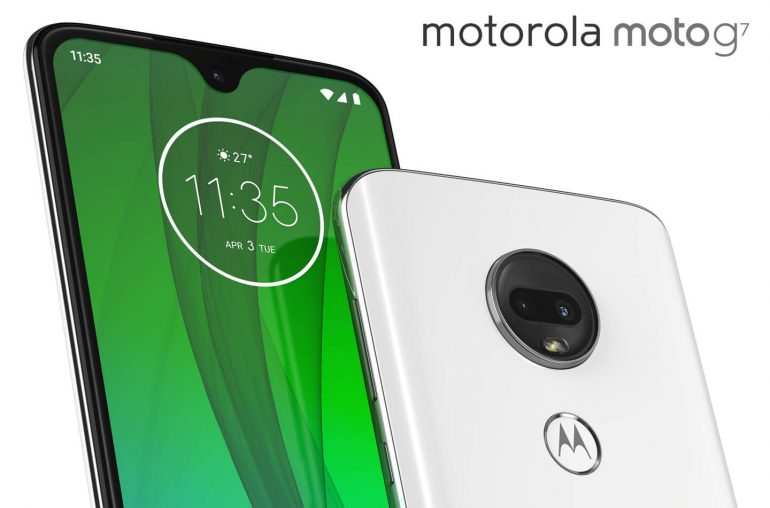 Motorola Moto G7 smartphones