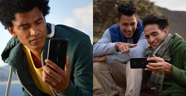 Nokia telefoon met gezichtsherkenning