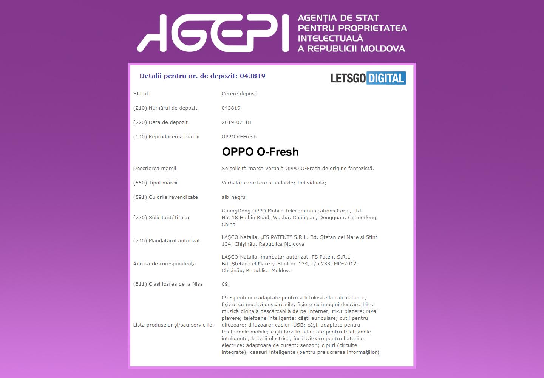 OPPO O-FRESH