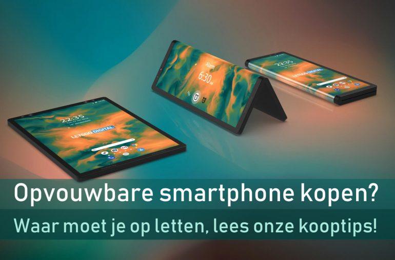 Opvouwbare smartphone kopen
