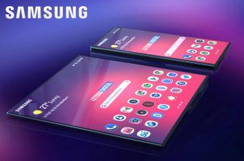 Samsung Galaxy F opvouwbare smartphone