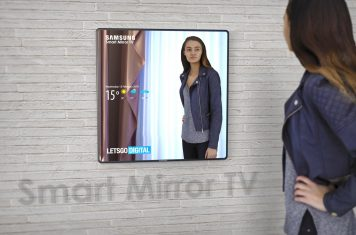 Samsung Smart Mirror TV