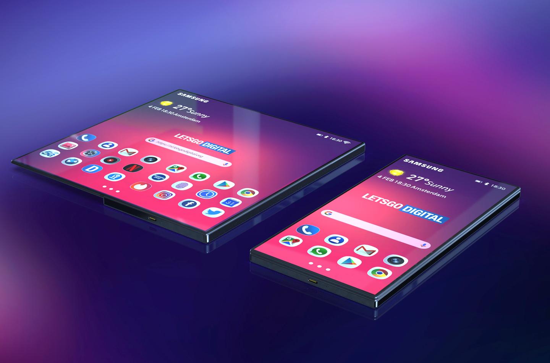 Samsung smartphone opvouwbaar model