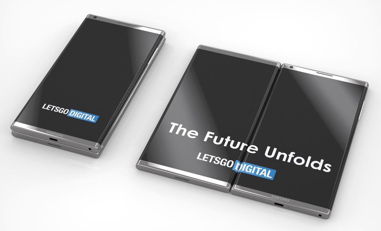 Samsung smartphone opvouwbare modellen