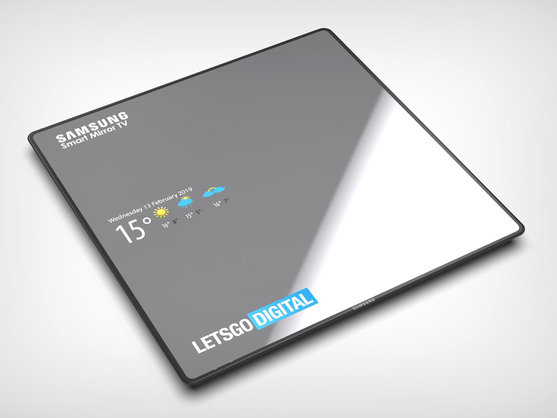 Samsung spiegel TV