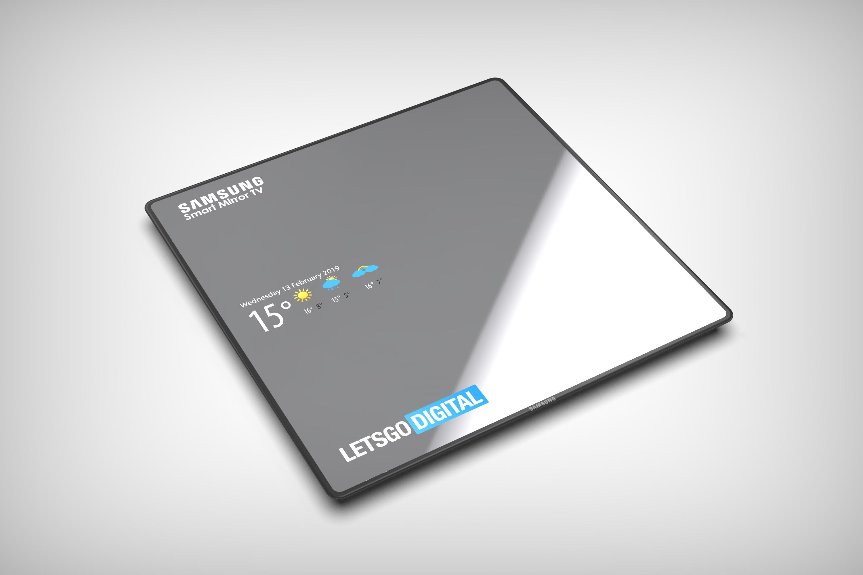 Spiegel Op Je Computer.Samsung Smart Mirror Tv Spiegel En Televisie In Een