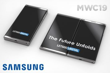 Samsung vouwbare smartphone introductie op MWC 2019
