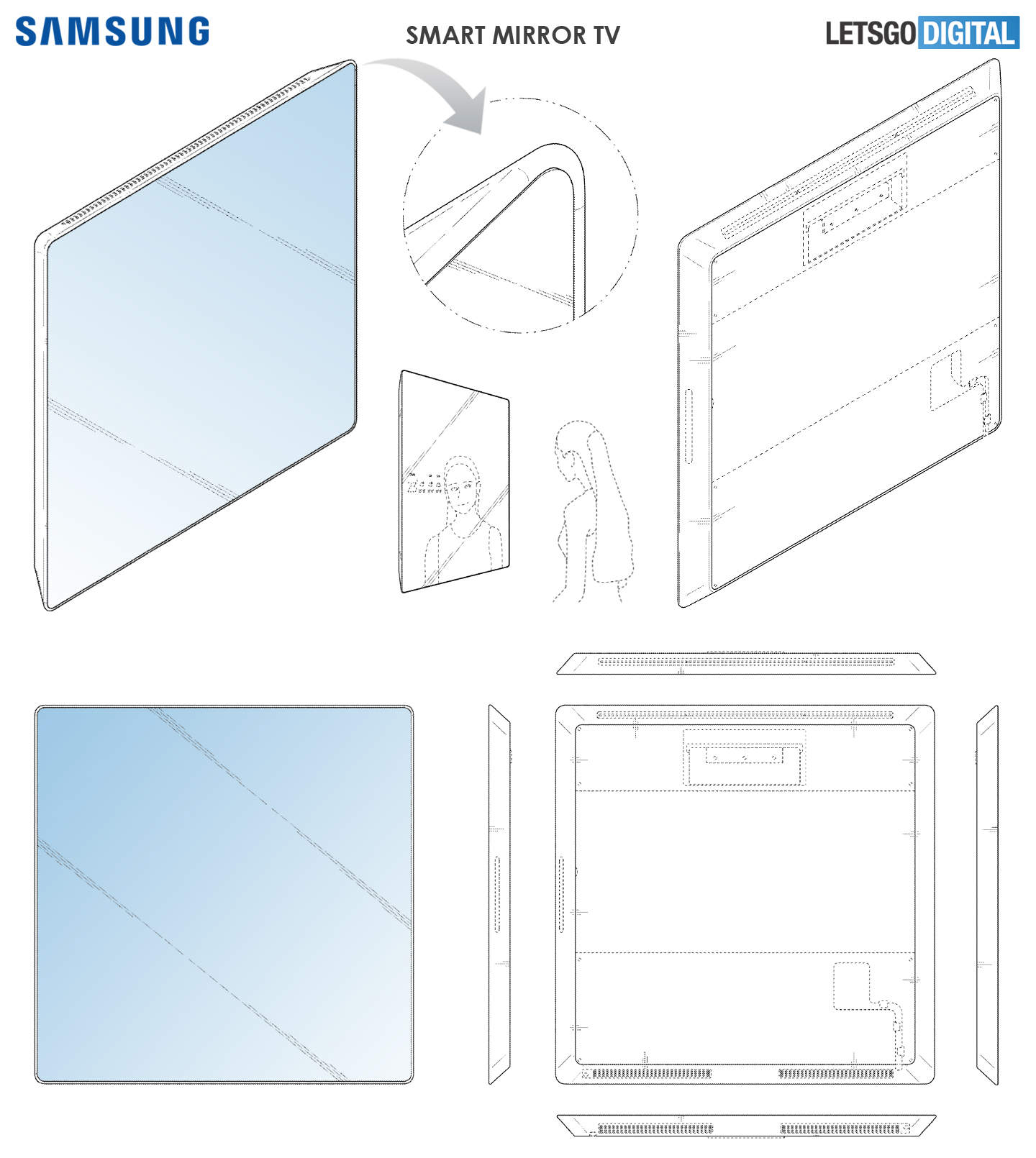 Smart Mirror TV