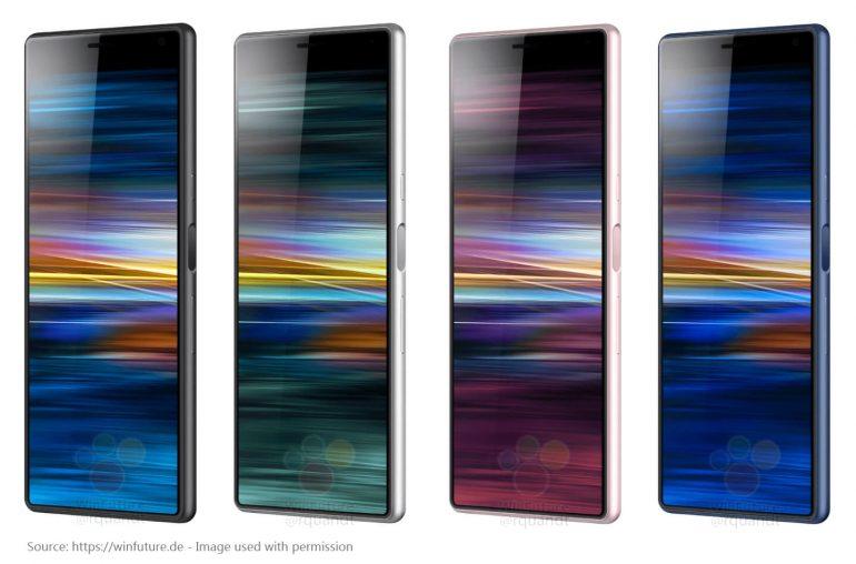 Sony Xperia XA3 smartphone